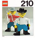 LEGO Cowboys Set 210-1 Instructions
