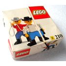 LEGO Cowboys Set 210 Packaging