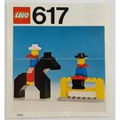 LEGO Cowboys Set 617 Instructions