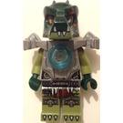 LEGO Cragger, Flat Silver Armour No Cape Minifigure