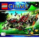 LEGO Cragger's Command Ship Set 70006 Instructions