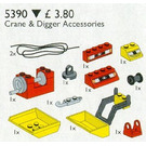 LEGO Crane and Digger Accessories Set 5390