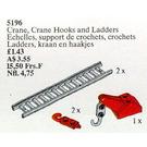 LEGO Crane, Crane Hooks and Ladders Set 5196
