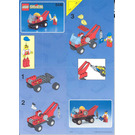LEGO Crane Truck Set 6446 Instructions