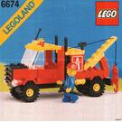 LEGO Crane Truck Set 6674