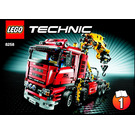 LEGO Crane Truck Set 8258 Instructions