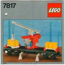 LEGO Crane Wagon Set 7817 Instructions