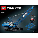LEGO Crawler Crane Set 42042 Instructions