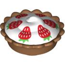 LEGO Cream Pie with Decoration (12163 / 32800)