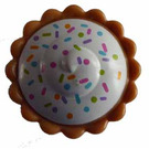 LEGO Cream Pie with Sprinkles and Filling Pattern (12163)
