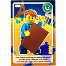 LEGO Create the World Card 002 - Sam