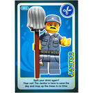 LEGO Create the World Card 003 - Janitor