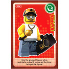 LEGO Create the World Card 004 - Rapper
