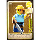 LEGO Create the World Card 005 - Carpenter