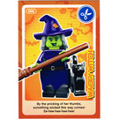 LEGO Create the World Card 006 - Wacky Witch