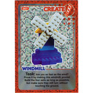 LEGO Create the World Card 007 - Windmill [Foil]