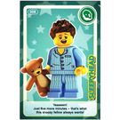 LEGO Create the World Card 008 - Sleepyhead