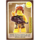 LEGO Create the World Card 009 - Cave Woman