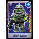 LEGO Create the World Card 010 - Alien Avenger