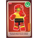 LEGO Create the World Card 011 - Boxer