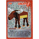 LEGO Create the World Card 015 - Moose [Foil]