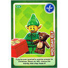 LEGO Create the World Card 016 - Holiday Elf