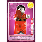 LEGO Create the World Card 017 - Kimono Girl