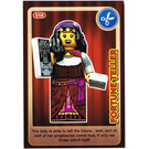 LEGO Create the World Card 018 - Fortune Teller