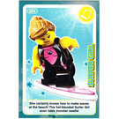 LEGO Create the World Card 024 - Surfer Girl