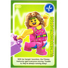 LEGO Create the World Card 027 - Fitness Instructor