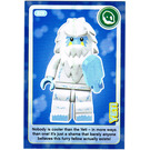 LEGO Create the World Card 029 - Yeti