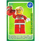 LEGO Create the World Card 041 - Race Car Driver