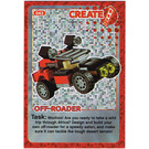 LEGO Create the World Card 043 - Off-Roader [foil]