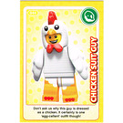 LEGO Create the World Card 044 - Chicken Suit Guy