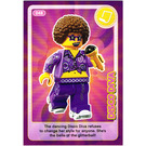 LEGO Create the World Card 048 - Disco Diva