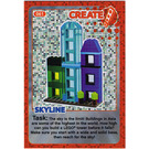 LEGO Create the World Card 061 - Skyline [foil]