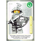 LEGO Create the World Card 082 - Heroic Knight