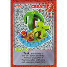LEGO Create the World Card 083 - Island [foil]