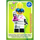 LEGO Create the World Card 084 - Crazy Scientist