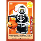 LEGO Create the World Card 088 - Skeleton Guy