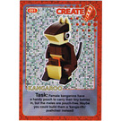 LEGO Create the World Card 091 - Kangaroo [foil]