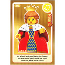 LEGO Create the World Card 092 - Queen