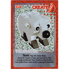 LEGO Create the World Card 097 - Polar Bear [foil]