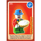 LEGO Create the World Card 101 - Small Clown
