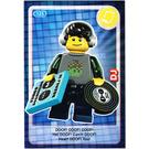 LEGO Create the World Card 125 - DJ