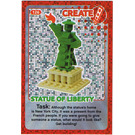 LEGO Create the World Card 126 - Statue Of Liberty [foil]