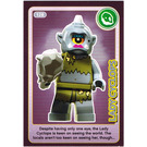 LEGO Create the World Card 128 - Lady Cyclops