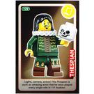 LEGO Create the World Card 129 - Thespian