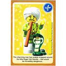 LEGO Create the World Card 130 - Snake Charmer