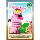 LEGO Create the World Card 131 - Piggy Guy